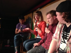 "Episode 6 – ""Video Gaming LIVE"" w/Kumail Nanjiani & Emily V Gordon"