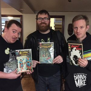"Episode 24 – ""Judging a (Comic) Book by its Cover"" w/Mike Lawrence"